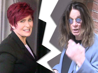 Sharon Osbourne -- Ozzy Moved Back Home, So I'm Outta Here