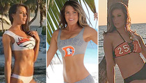 Broncos Cheeleaders -- Adios Clothes!! Hot Mexican Bikini Shoot (PHOTOS)