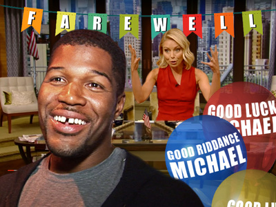 Michael Strahan -- Flashbacks on Final Friday ... Kelly Ramps Up the Bitterness