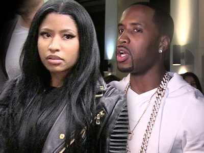 Nicki Minaj Blasts Her Ex ... Get a Job, Get Off MY Money! (VIDEO)