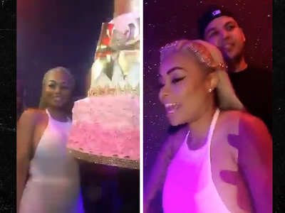 Blac Chyna -- Birthday Dripping in Diamonds ... And Ass (VIDEO)