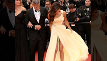 Amal Clooney -- Trainwreck at Cannes (PHOTOS)