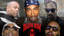 Death Row Records -- Big Rappers Screwed Out of Millions in Bankruptcy