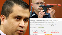 George Zimmerman -- Legit Bid for Trayvon Martin Gun Tops $400k