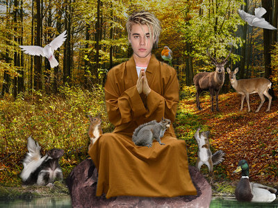 Justin Bieber -- I'm Not Losing It!!! ... I'm Reconnecting with God and Nature