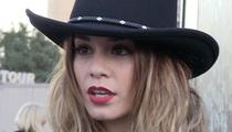 Vanessa Hudgens -- $1k Fine For Rock Carving