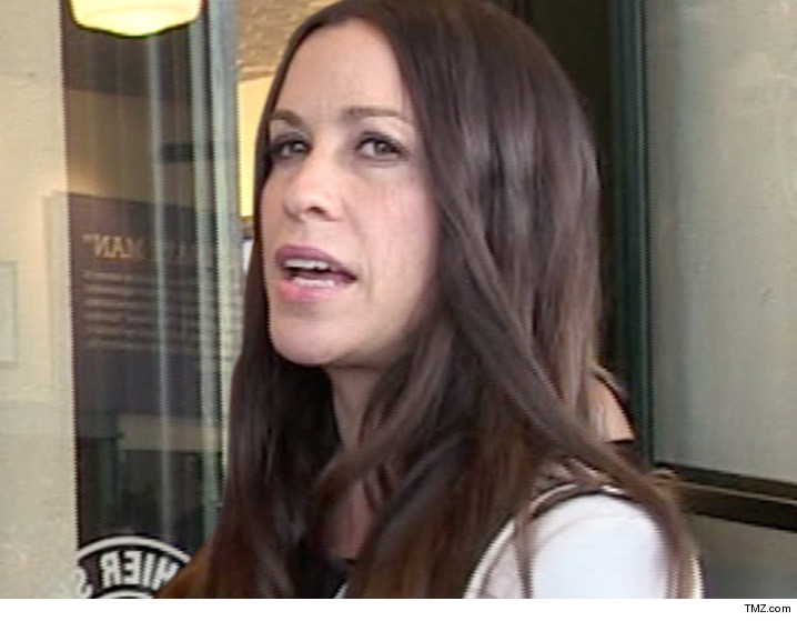 Alanis Morissette -- Business Manager Allegedly Screwed Her Out of Millions