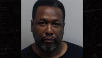 'The Wire' Star Wendell Pierce -- Bloodied for Hillary Clinton (MUG SHOT)