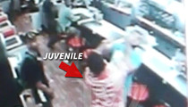 Juvenile -- Punches Waffle House Customer ... My Wife's No Ho (VIDEO)