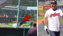 UFC Champ Stipe Miocic -- SMACKS HOME RUN ... at MLB Ballpark (VIDEO)