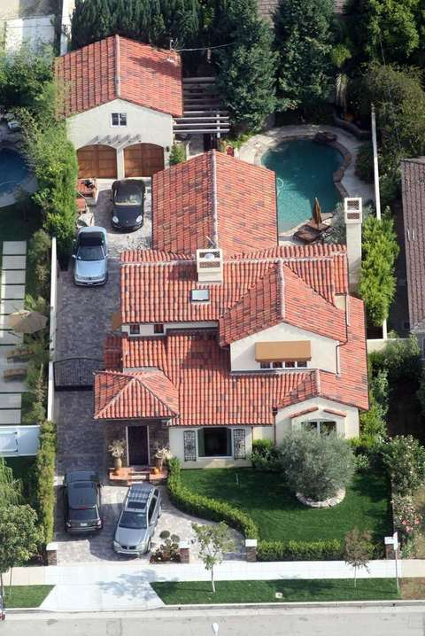 Lamar Odom's house Pinecreft Florida. Aerial photos of ...