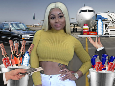 Blac Chyna -- If I'm Working Strip Clubs, I'm Poppin' Bottles!