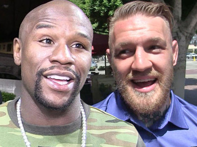 Floyd Mayweather -- $50 Mil Offer to McGregor ... But No Deal Yet
