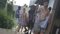 Johnny Manziel -- Tatted and Skinny ... at Vegas Pool Party (PHOTOS)
