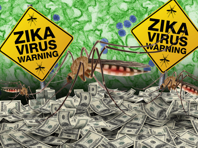 Zika Virus -- Entrepreneurs Gunning for Zillions