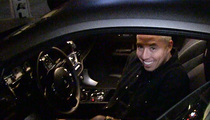 Samir Nasri -- Soccer Superstar Ballin' Out in Hollywood ... In $300k Whip (VIDEO)