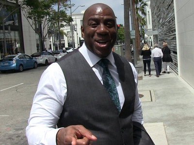 Magic Johnson -- I Don't Hate Trump ... We Can Be Friends After Hillary Wins (VIDEO)