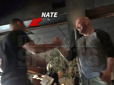 Nate Diaz, Dana White -- Lunch Over Conor Rematch Blows Up (VIDEO)