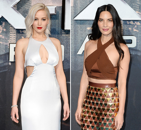 Sexy X-Women! Jennifer Lawrence (25) vs. Olivia Munn (35)