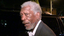 Morgan Freeman -- Yes, I Know the First Lady ... But I Don't KNOW Her (VIDEO)