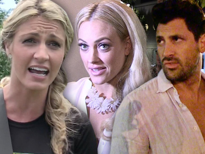 Erin Andrews -- Blows 'DWTS' Pregnancy Secret ... Ooops!