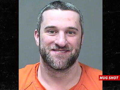 Dustin Diamond -- Saved by the Cell ... Back in Jail for Probation Violation (MUG SHOT)
