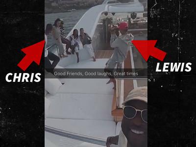 Dwyane Wade -- European Yacht Vacation ... With Chris Bosh