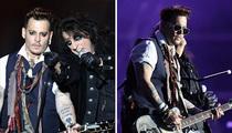 Johnny Depp - Amber Who?  Vampires Rock On (PHOTOS)