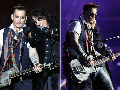 Johnny Depp - Amber Who?  Vampires Rock On (PHOTOS)