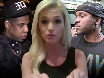 Jay Z and Pusha T -- Fire Back at Beyonce Hating Host ... We Got Your 'Drug Dealer' Right Here! (AUDIO)