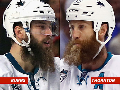 San Jose Sharks -- Brent Burns vs. Joe Thornton: Whose Got a Better Beard?