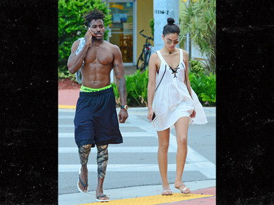 DJ Ruckus & Shanina Shaik -- Hard and Creamy (PHOTO)