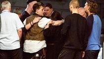 Johnny Depp -- Boozing, Not Fighting at Danish Bar (PHOTOS)