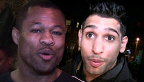 Shane Mosley -- Blasts Amir Khan ... You Suck Too Hard to Fight at Olympics