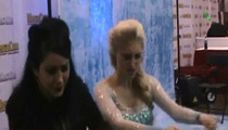 'Frozen' Look-Alike -- Elsa Gets Hypnotized (VIDEO)
