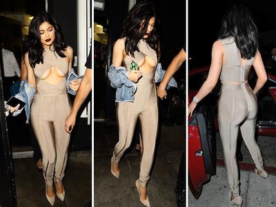 Kylie Jenner -- The Sultry Bullseye (PHOTO + VIDEO)