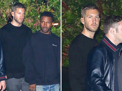 Calvin Harris -- Hits the Ocean with Frank Ocean