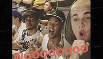 Bieber, Neymar, Hamilton -- 3 Kings at the Rose Bowl (PHOTOS)