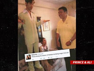 Prince -- Muhammad Ali ... Prince and the King (PHOTO)