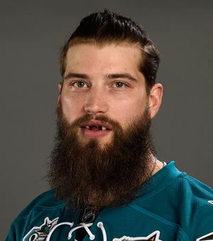 San Jose Sharks' Brent Burns' Shining Smile