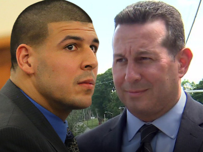 Aaron Hernandez -- Officially Hires Casey Anthony's Lawyer