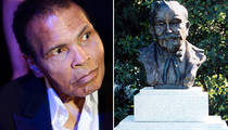 Muhammad Ali -- Going to 'The Greatest' Burial Site ... Col. Sanders, 'Happy Birthday' Writer There Too (PHOTOS)
