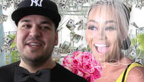 Blac Chyna & Rob Kardashian -- We'll Make 7 Figures Off Our Wedding ... And Kris Will Help