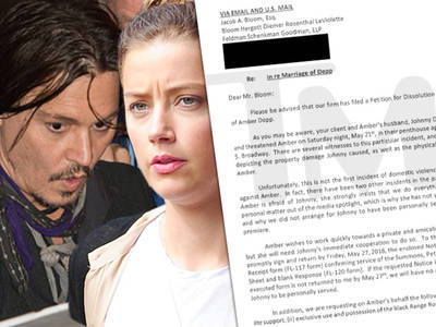 Johnny Depp -- It's All About Money for Amber ... She Begs to Differ