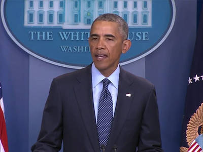 President Obama -- Orlando Shooting is Heartbreak to LGBT Community