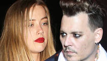 Amber Heard to Johnny Depp -- Money's NO Factor ... Just Stay Away