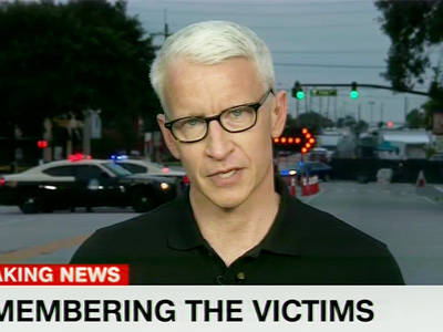 Anderson Cooper -- Orlando Tragedy Brings Him to Tears (VIDEO)
