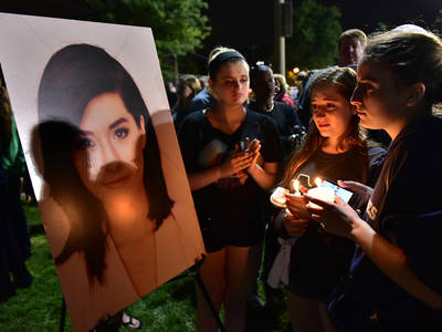 Christina Grimmie -- Fans and Friends Mourn at Hometown Vigil (PHOTOS)