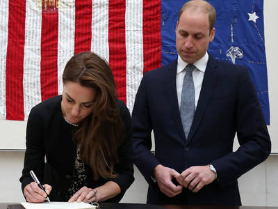 Prince William & Kate Middleton -- Sending Orlando 'Deepest Condolences' (PHOTOS)