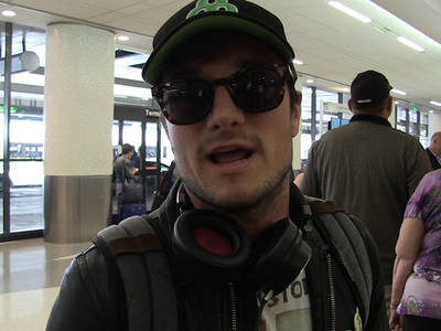 Josh Hutcherson -- Bernie Sanders NEEDS to Keep Running ... 'It's Not About Winning' (VIDEO)